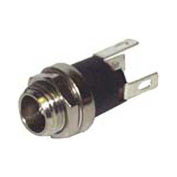 Einbaubuchse Hochlstecker / AD 5,5 mm / ID 2,1 mm
