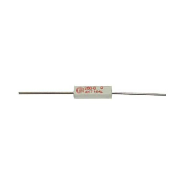 Draht-Widerstand / 1,8 KOhm / 5 Watt / 10%