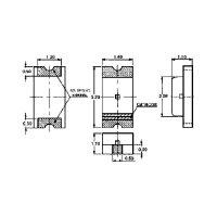 SMD-LED / 1206 / gelb / klar / 6 mcd