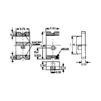 SMD-LED / 0603 / rot / klar / 80 mcd
