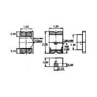 SMD-LED / 0805 / gelb / klar / 60 mcd