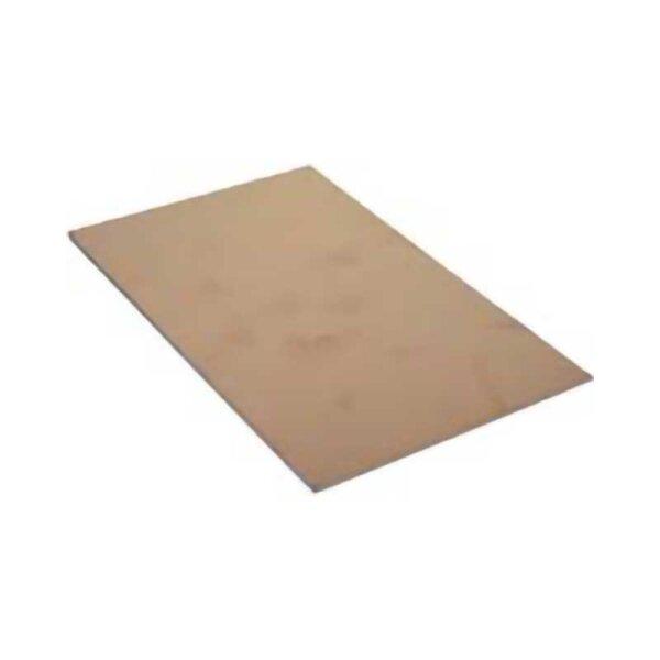 Kupferplatine Epoxyd / einseitig / 160x200mm / 1,5mm / 35µm