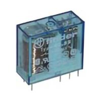 Finder-Steckrelais Serie 40.31, 1x UM, 250V/10A, 230VAC, RM 3,5mm