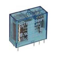 Finder-Steckrelais Serie 40.52, 2x UM, 250V/8A, 12VDC, RM 5mm