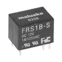 Miniatur-DIP-Relais, 1x UM, 60VDC/120VAC/1A, 12VDC, RM 2,5mm