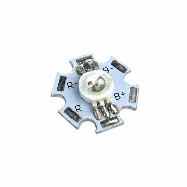 RGB-Powerline-LED / 3 Watt / 6 Pin