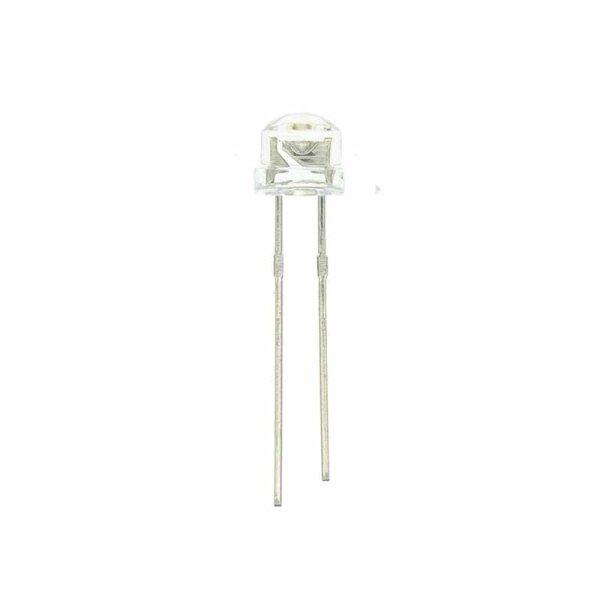 StrawHat-LED 4,8 mm / weiß / klar / 1500 mcd / 120°