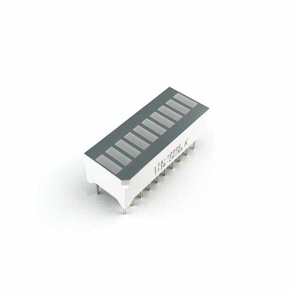 LED-Baragraph-Anzeige 10x grün