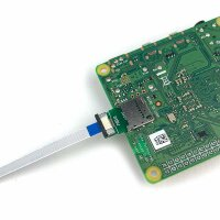 MircoSD Einbaubuchse mit MicroSD Verlängerungskabel