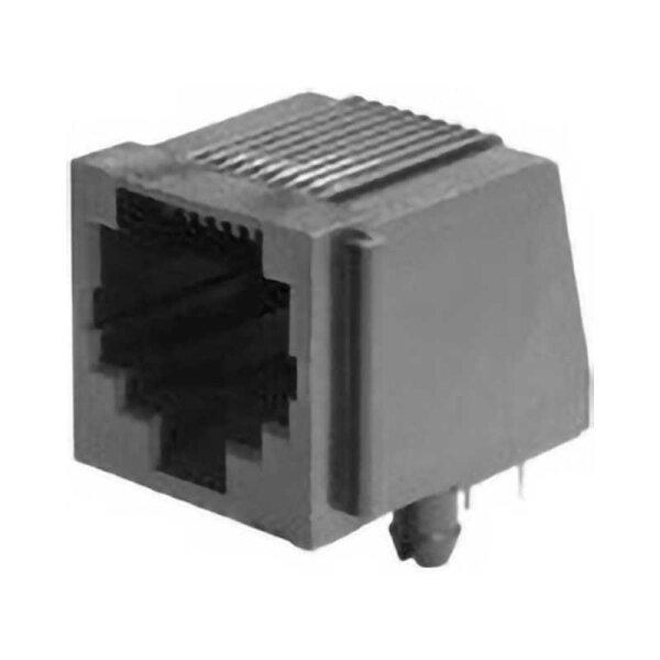 Modular-Printbuchse / 8 polig / liegend
