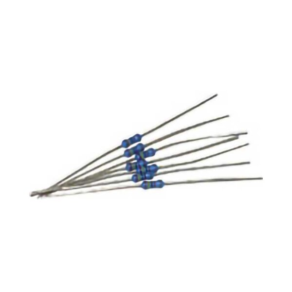 Metallschicht-Widerstand / 33 Ohm / 0,6 Watt / 1%