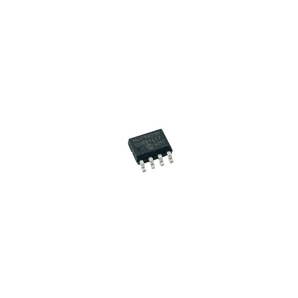 MCP9801 Temperatursensor / I2C-Bus / +/-1.0°C / SOIC8