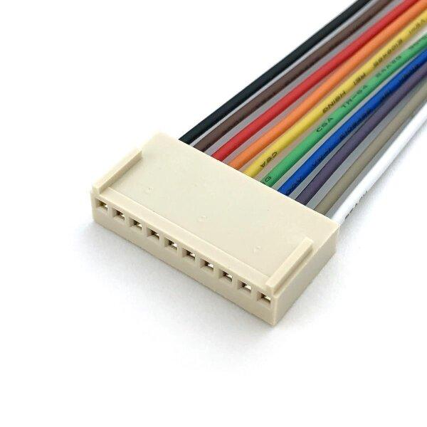 Platinenverbinder-Buchsenleiste 10polig mit Kabel