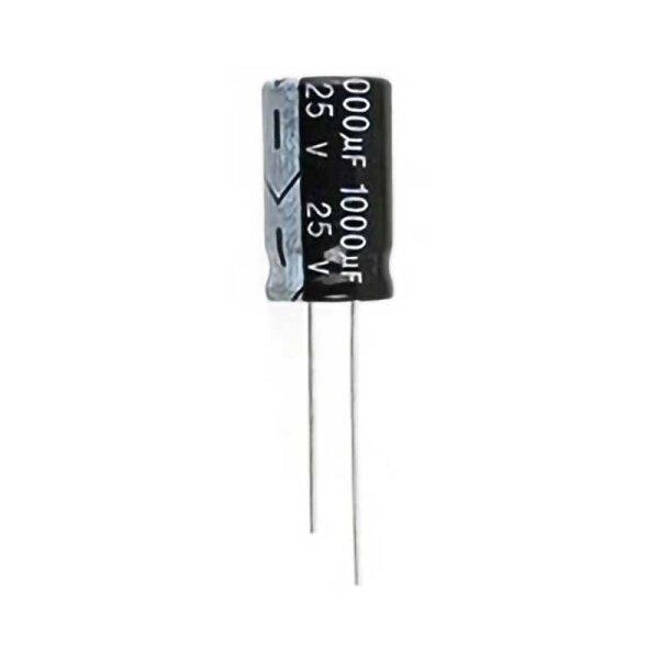 Elko / radial / 2200 µF / 25 V / RM 5,0 / 105° / 20%