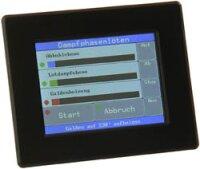 "ATxMega256a3U Controller Board mit 3.2"" Touchscreen MCP7940N"